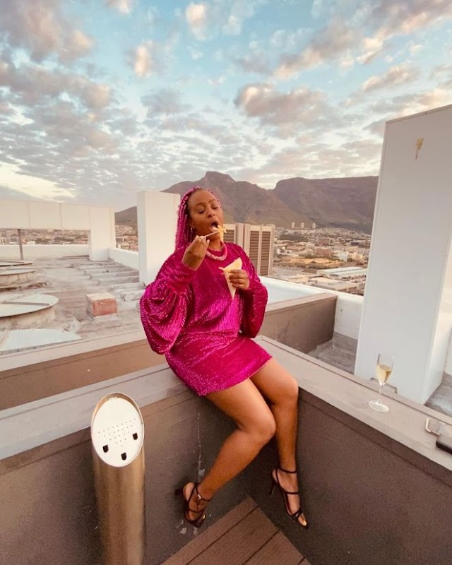 WHO BROKE HER HEART AGAIN?… DJ CUPPY CHOOSES FRIES OVER GUYS