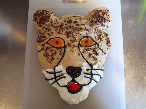 Cheetah Cakes ? Decoration Ideas   Little Birthday Cakes