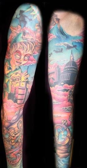 Peter pan tattoos for Jason ackerman tattoo
