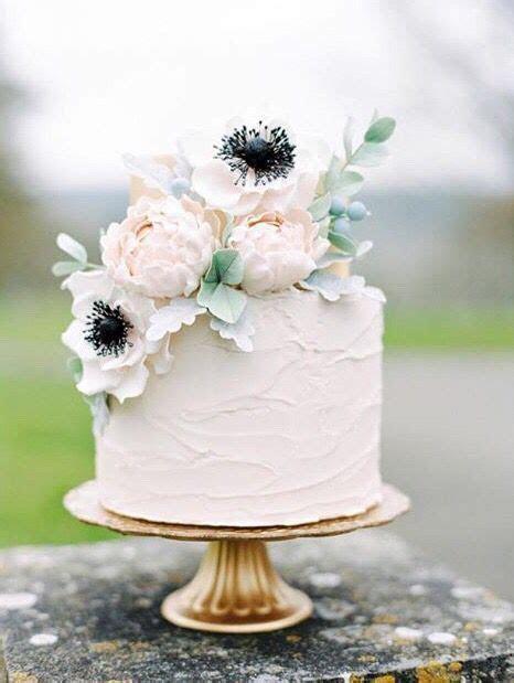 20 Single Tier Wedding Cakes with Wow   Classic Weddings