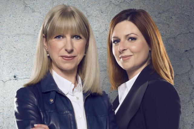 Les journalistes de Radio-Canada Isabelle Richer etMarie-Maude Denis... (PHOTO FOURNIE PAR ICI RADIO-CANADA)