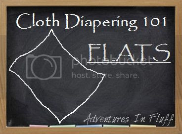 Cloth Diapering 101 - Flats