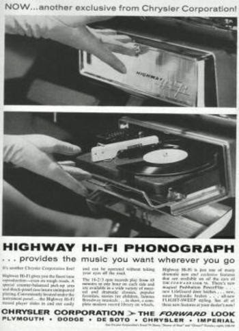 highway phonograph