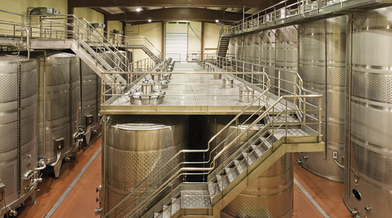 Wineries Equipment Materials And Corrosion