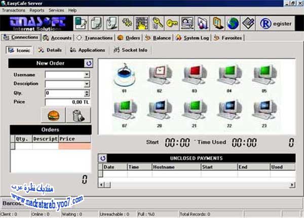 البرنامج الرهيب EasyCafe ايزي كافيه  للتحكم بمقهى انترنت