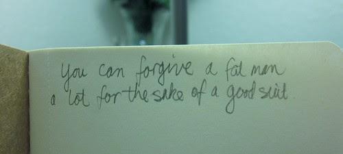 Moleskine cahier scribble