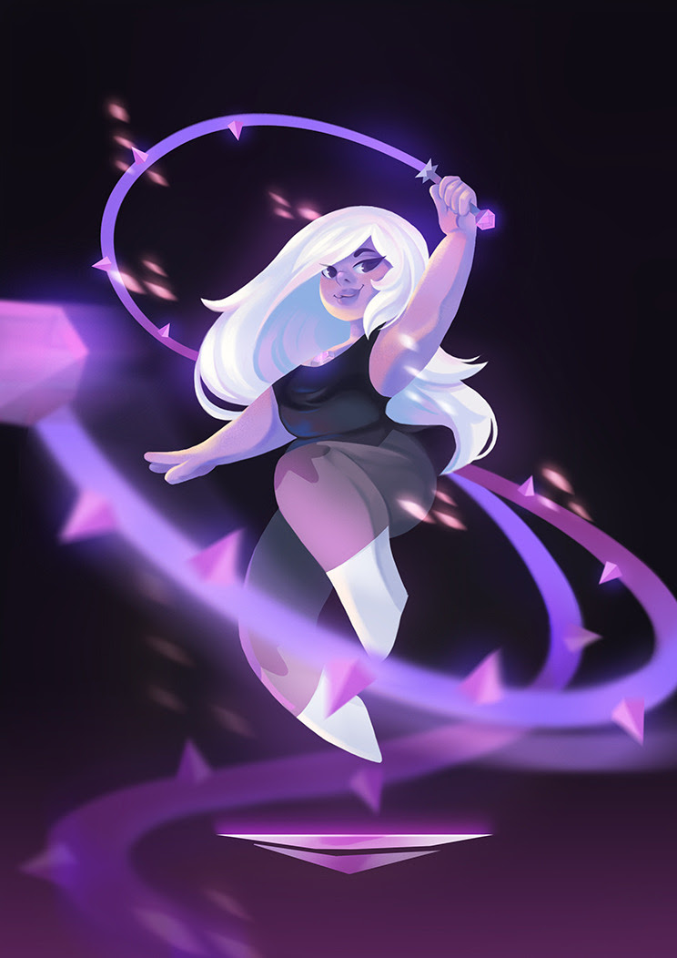 Pearl and Amethyst. Will post more Crystal gems soon.