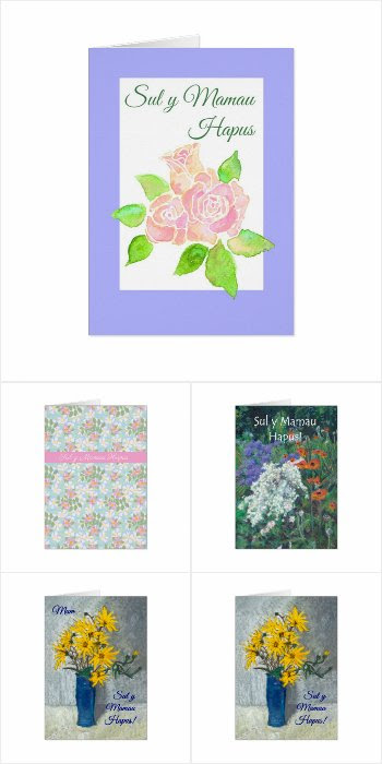 Welsh Greeting Mother's Day Cards