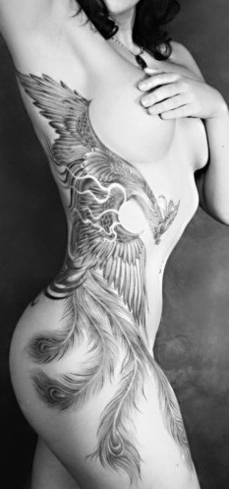 Sexy Phoenix Tattoo Design Of Tattoosdesign Of Tattoos