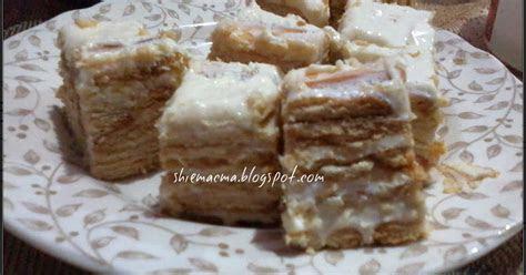 resepi cheesecake biscuit cheseekut  simple