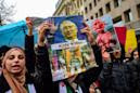 Scores in Turkey protest Russia over Idlib assault