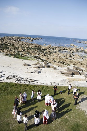 A wedding celebration