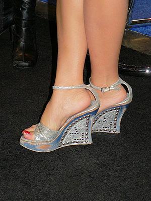 Platform shoes.
