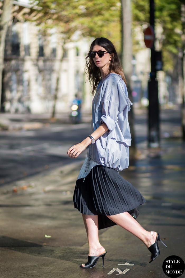 Labériane Ponton The Blab Street Style Street Fashion Streetsnaps by STYLEDUMONDE Street Style Fashion Blog