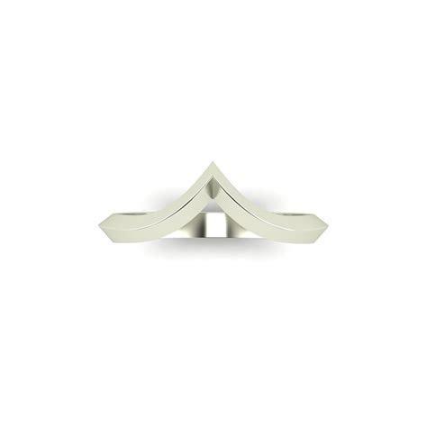 Pagoda Ladies Wishbone Wedding Band   CAD Fantastic Jewellery