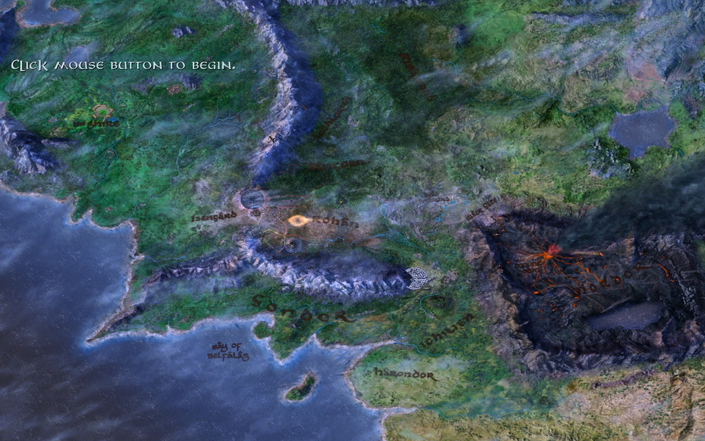 bfme middle earth map (zoomed out)
