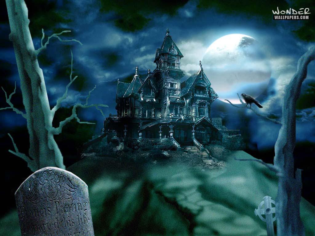 Haunted House Halloween Wallpaper 250818 Fanpop