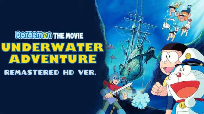 Doraemon The Movie – Nobita and the Underwater Adventure Hindi – Tamil – Telugu FHD
