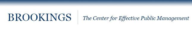 The Center for Effective Public Management