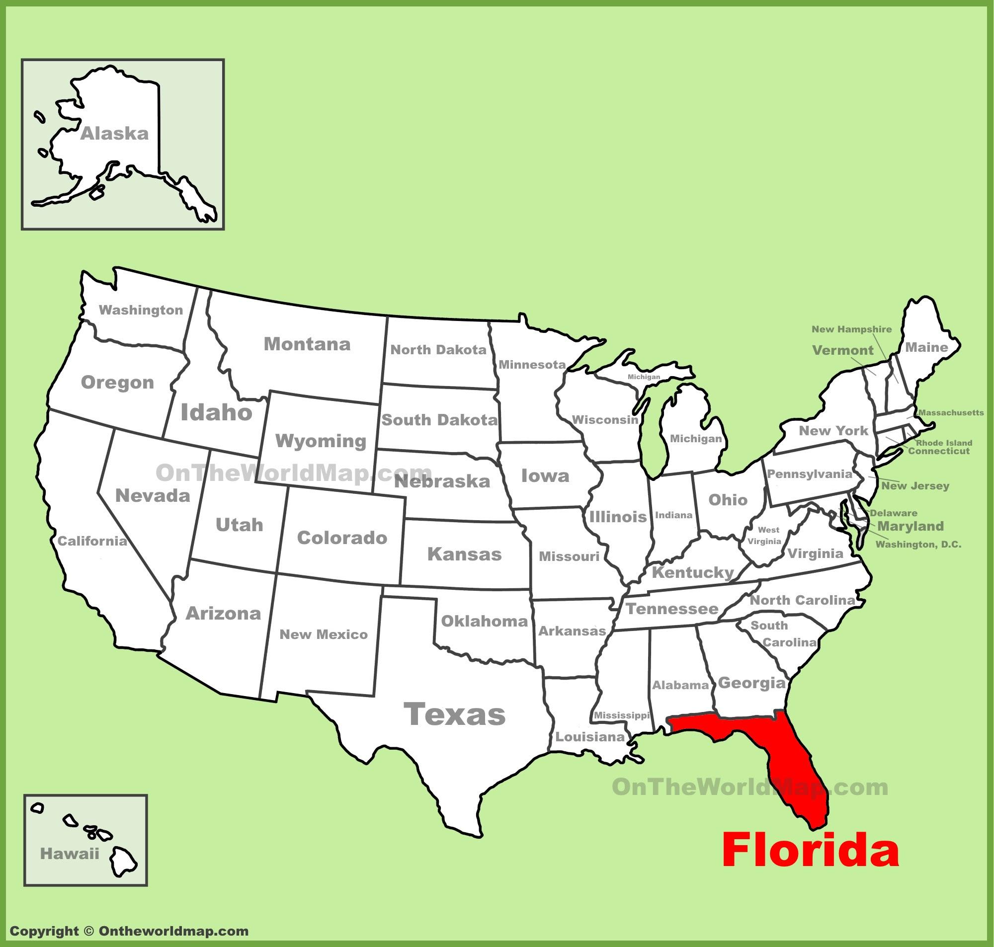 Florida State Maps Usa Maps Of Florida Fl