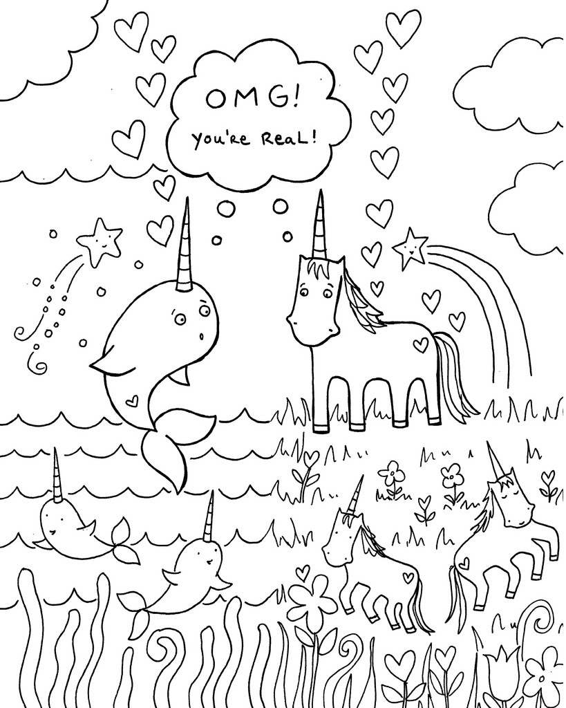 Pusheen Unicorn Coloring Pages at GetDrawings | Free download