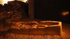 Roman bones.