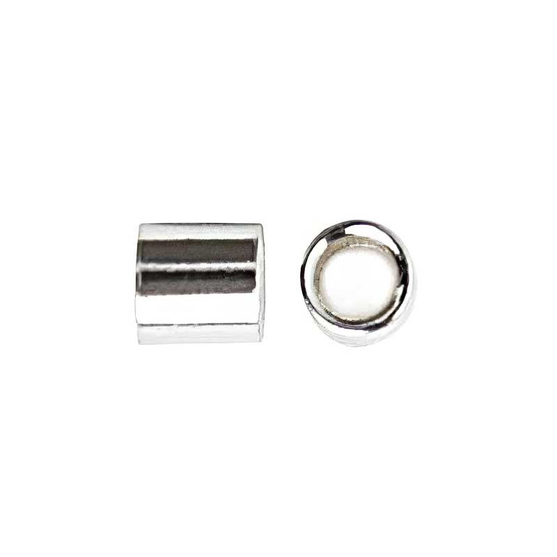 96002401 Sterling Crimps - 2 x 2 mm Crimp Tube - Sterling (50)