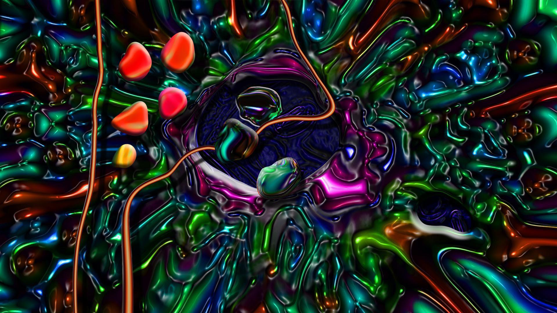 Trippy HD Wallpapers iPhone - WallpaperSafari