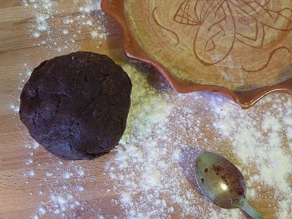 pâte au chocolat