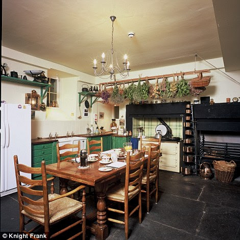 The Victorian kitchen at Myres