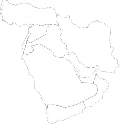 Image Result For Syria Middle East Map