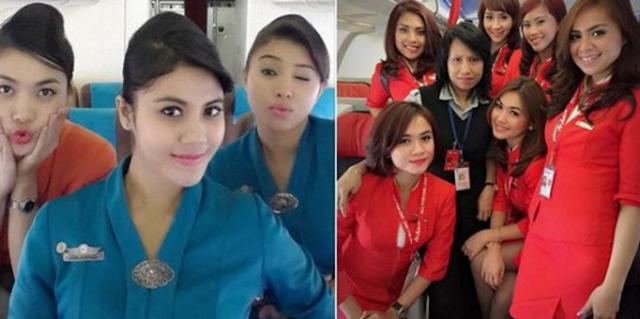 Dibalik Senyum Manis dan Sikap Ramahnya, Ternyata ini Gaji Pramugari di Indonesia