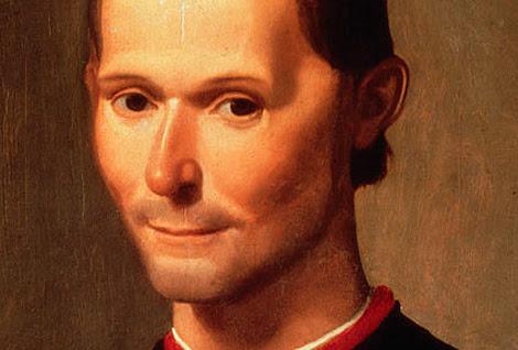 Nicolás Maquiavelo, retratado por Santi di Tito
