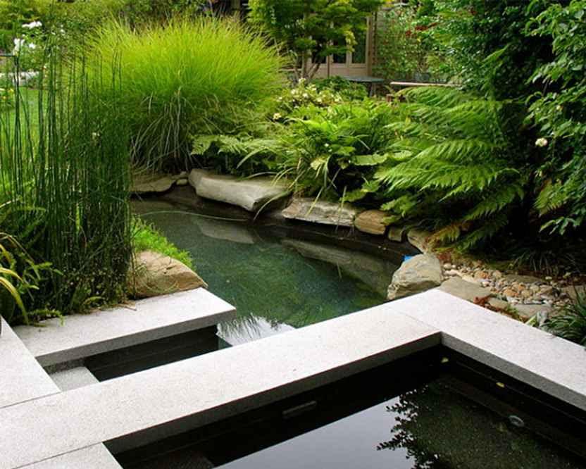 Modern garden ponds | http://lomets.com