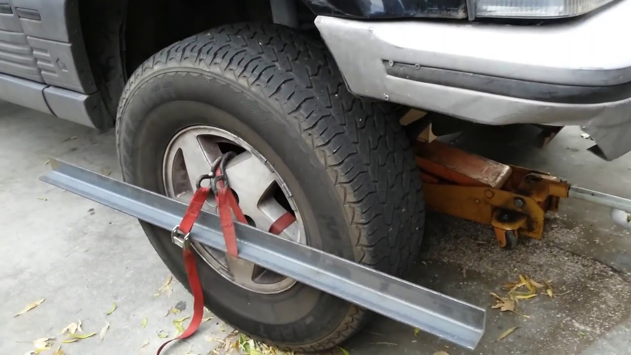 Diy Jeep Toe In Alignment How To Youtube
