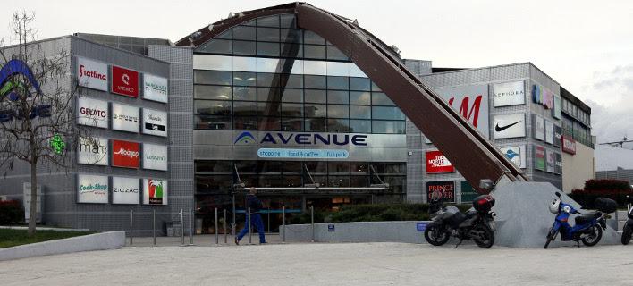 Ληστεία σε χρηματαποστολή στο εμπορικό κέντρο Avenue / Φωτογραφία: EUROKINISSI-ΓΕΩΡΓΙΑ ΠΑΝΑΓΟΠΟΥΛΟΥ