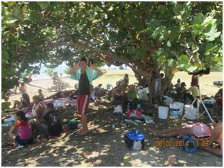 Burda mentira la de José Daniel al decir que más de 500 miembros de la UNPACU fueron en el viaje a la playa