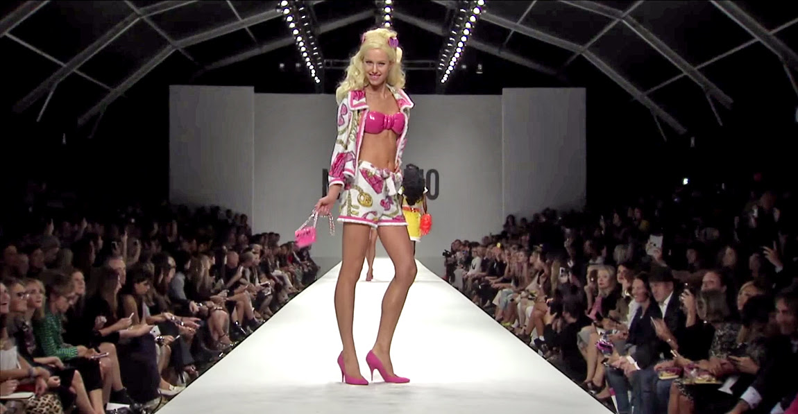 Moschino Barbie Fashion Show 8