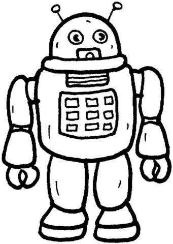 Dibujo De Robot Para Colorear Dibujos Para Colorear Imprimir Gratis