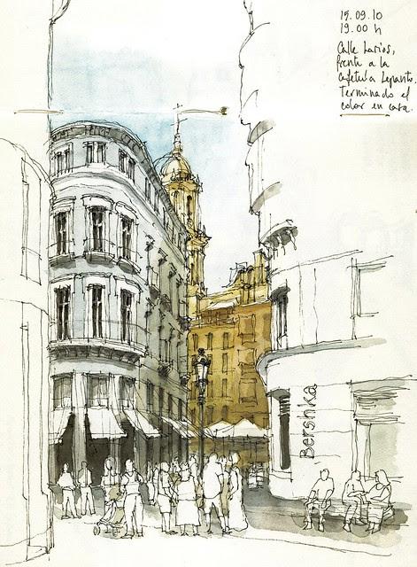 Málaga, calle Larios