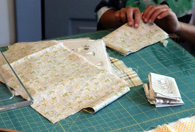 My Fabric Folder