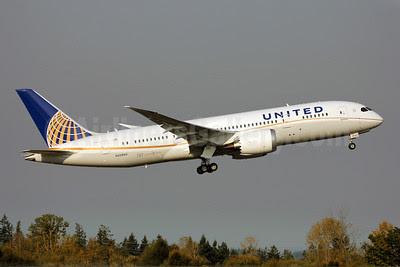 United Airlines Boeing 787-8 Dreamliner N20904 (msn 34824) PAE (Nick Dean). Image: 909327.