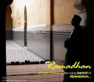 usah siakan ramadhan