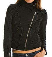 Armani Exchange Piped Moto Jacket