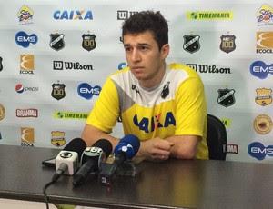 Ronaldo Mendes - meia do ABC (Foto: Carlos Cruz/GloboEsporte.com)
