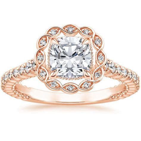 14K Rose Gold Magnolia Diamond Ring (1/3 ct. tw.)