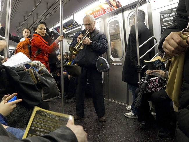 Trumpet Player, nyc