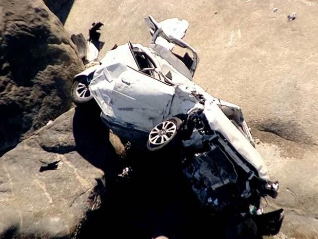 Helicóptero e motoaquática foram usados no resgate da vítima. (Foto: Reprodução/ TV Globo)
