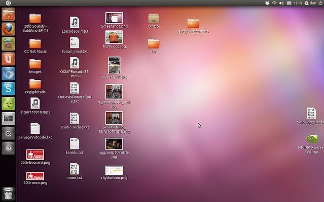 Unity, deskyop, Gnome, Ubuntu
