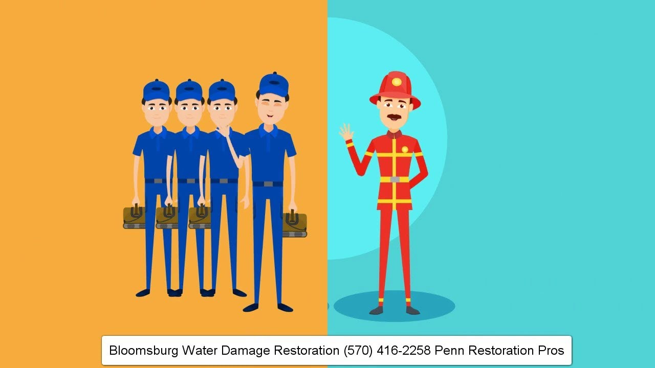 Bloomsburg Water Damage Restoration 570 416 2258 Penn Restoration Pros